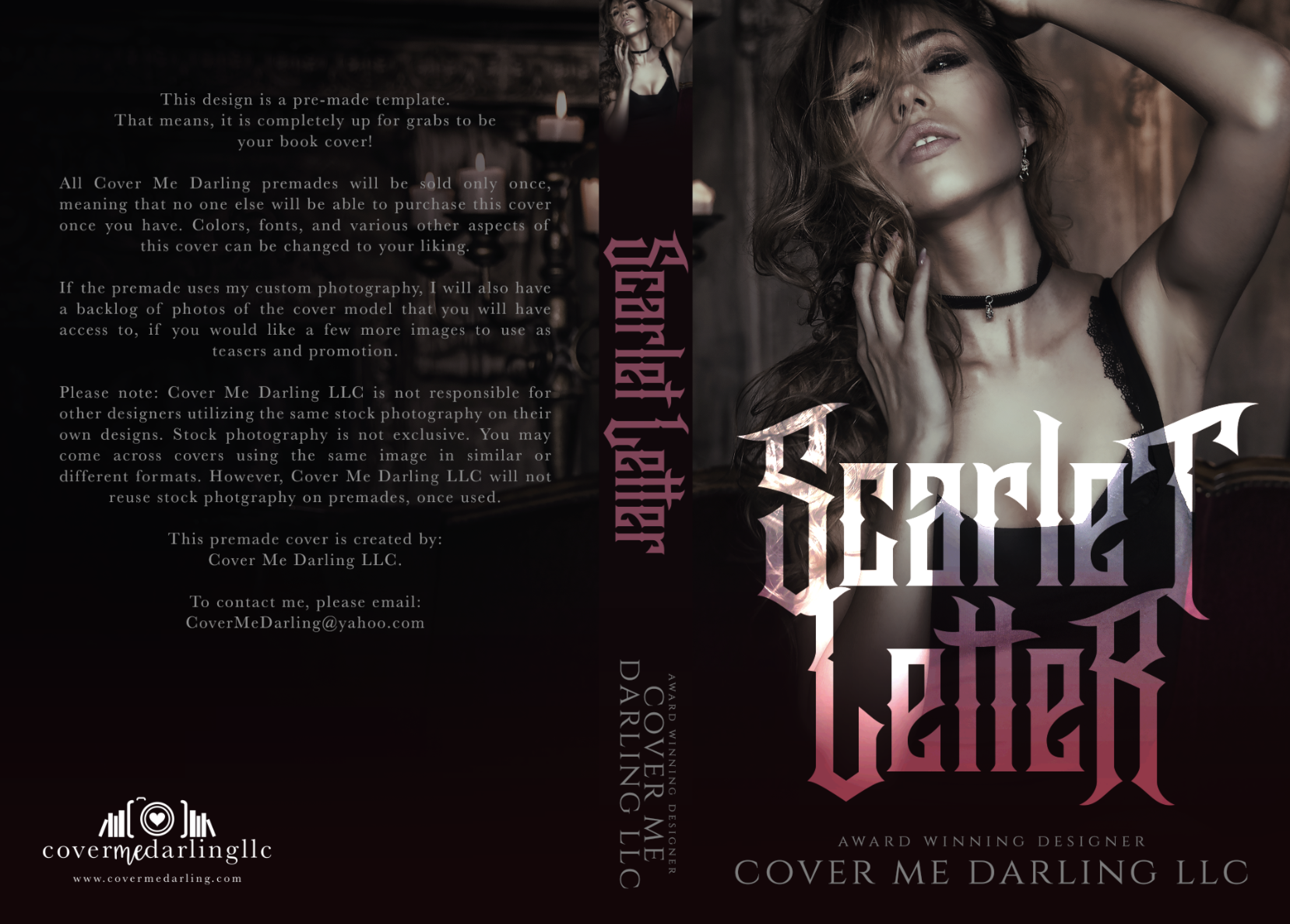 Mysterythriller covers scarlet letter madrichimfo Choice Image